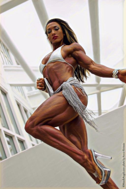 Валентина Мишина Bodybuilding Illustrated